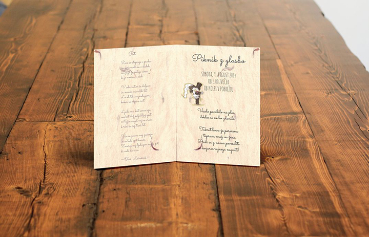 Poročno vabilo - oblikovanje / Wedding invitation - design