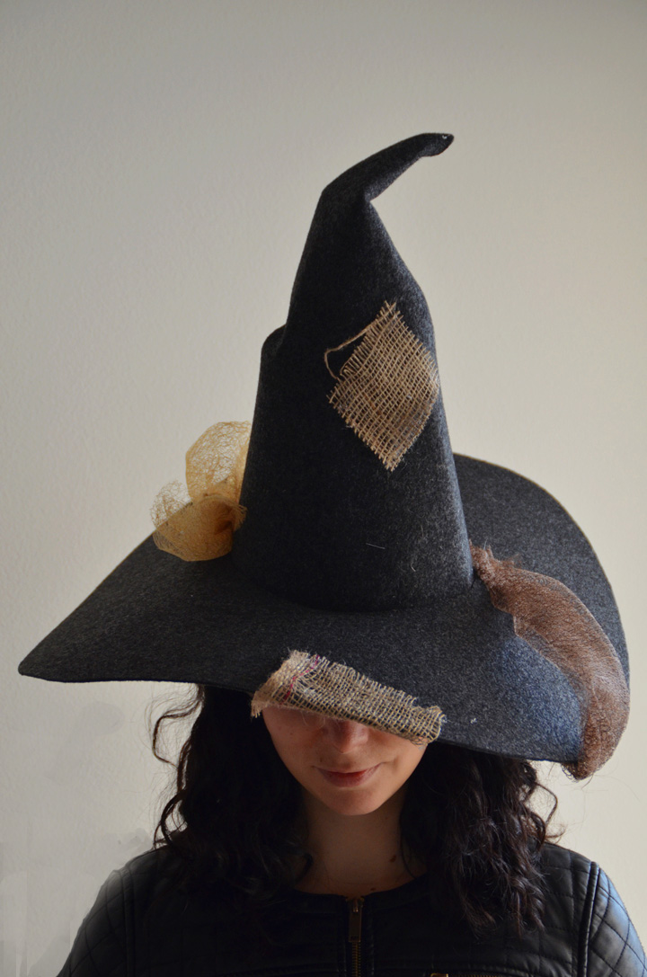 Čarovniški klobuk 1 / DIY Witch hat 1